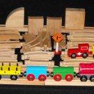 Brio Compatible Geoffrey Inc. Wooden Train set