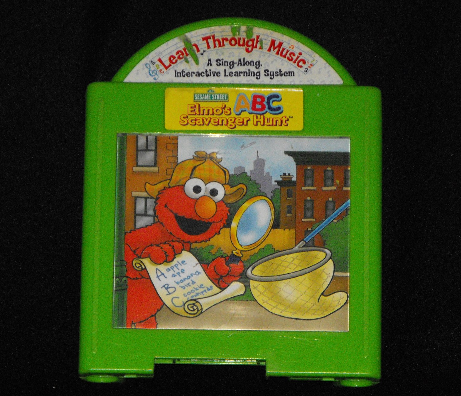 FISHER PRICE LEARN THROUGH MUSIC ELMO'S SCAVENGER HUNT