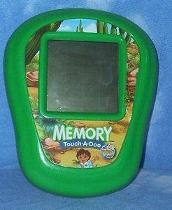 *12/14*SOLD~Fisher Price Go,Diego,Go Memory Touch A Doo Travel Game