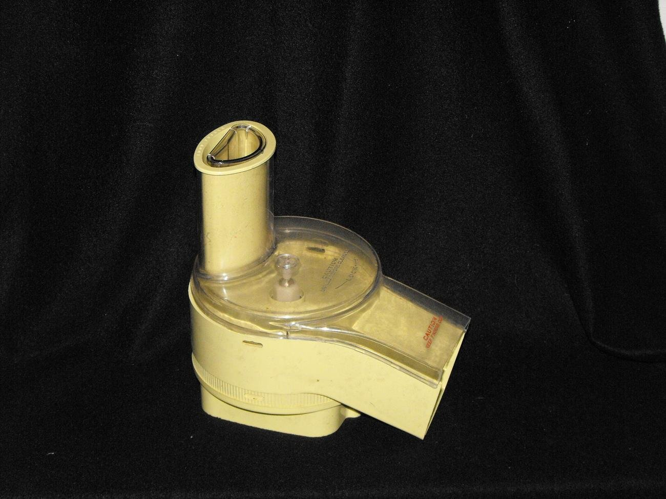 *SOLD*Oster Regency Kitchen Center Food Processor Chute Part