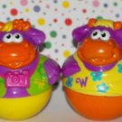 Playskool Weebles Weebles Weebleville Town Center Cow Parts