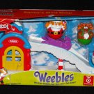 Playskool Weebles Santa's Sled Shop Target Exclusive