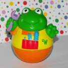 Playskool Weebles Frog with Overalls and Wrench Tools