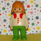 Playmobil 1-2-3 Girl Mom Figure