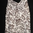 OH MAMMA! MATERNITY NURSING TOP~SHEER FABRIC SIZE XL