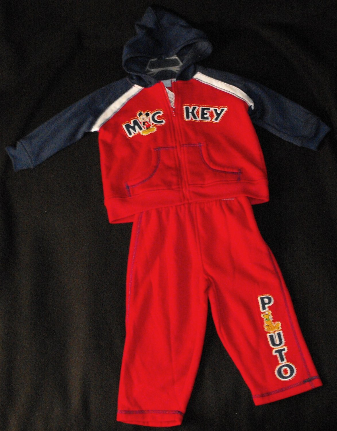 Disney Mickey Mouse 18 Months Boys Sweatsuit Outfit