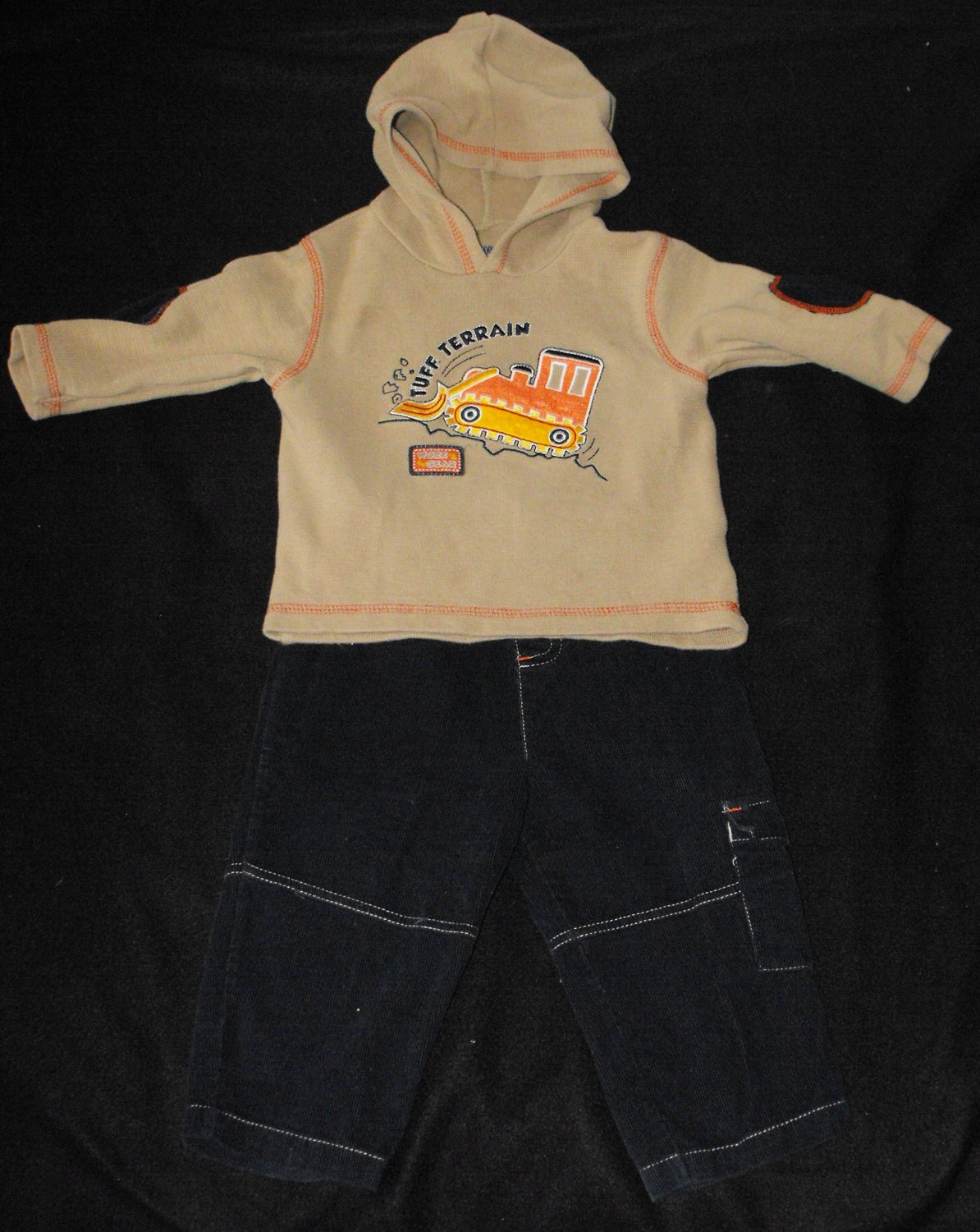 Okie Dokie Baby Boys 18 Month 2 Peice Outfit