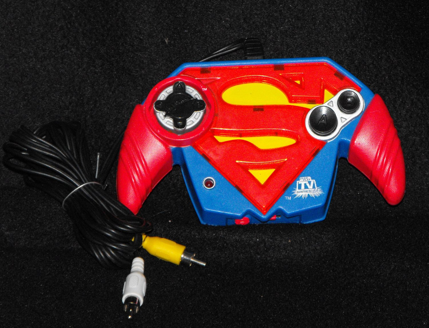 *SOLD~Awaiting Feedback~Jakks Pacific Superman Plug and Play AV Video Game