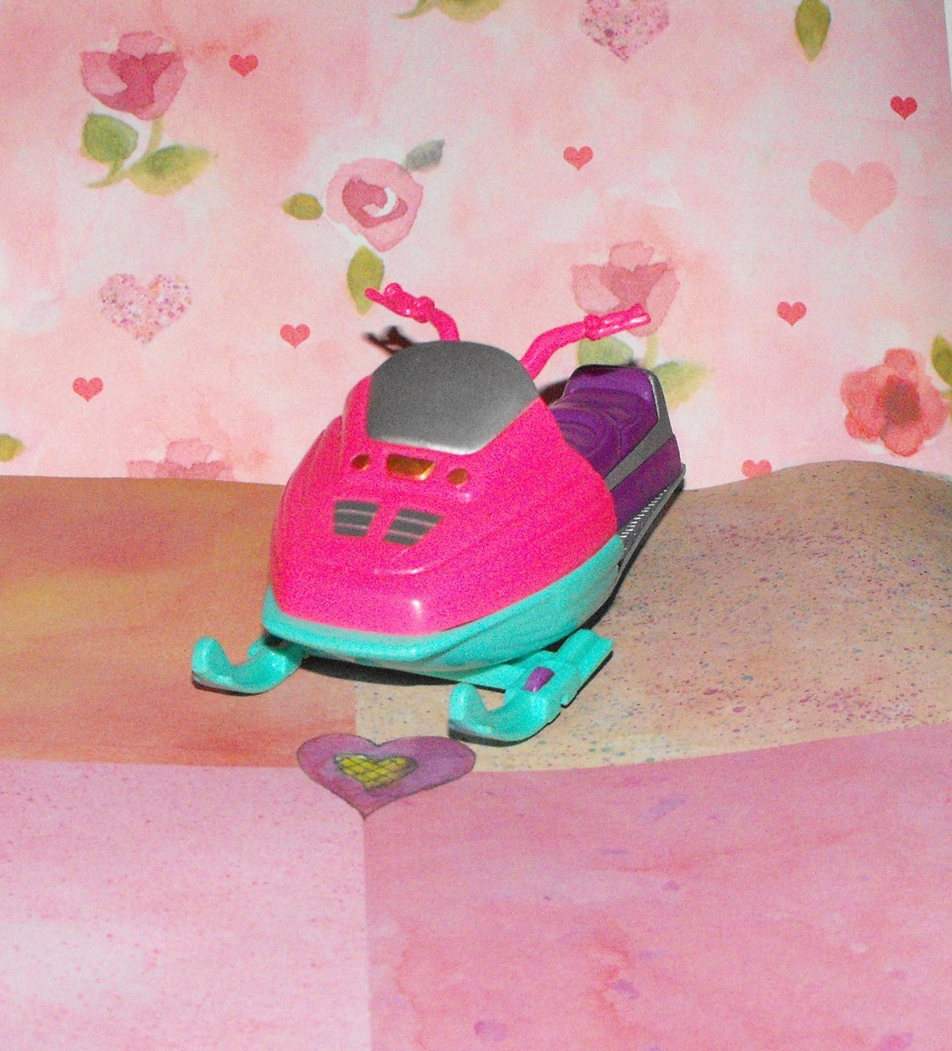 FISHER PRICE LOVING FAMILY DOLLHOUSE SNOW MOBILE