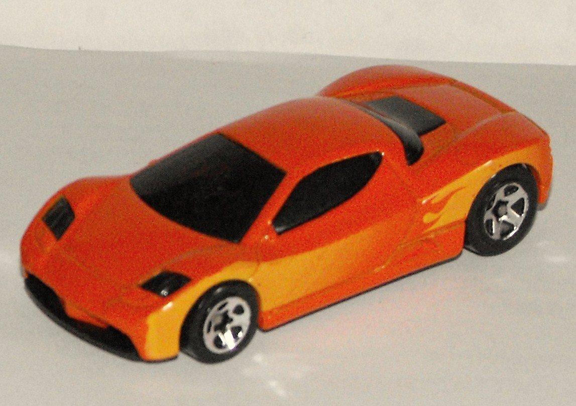 12*SOLD~Hot Wheels Acura HSC Concept Car Orange Flames