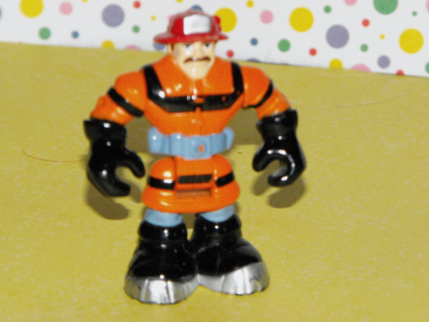 *11/11~SOLD*Fisher Price Rescue Heroes Micro Mini Figure Fire Down Under Forest