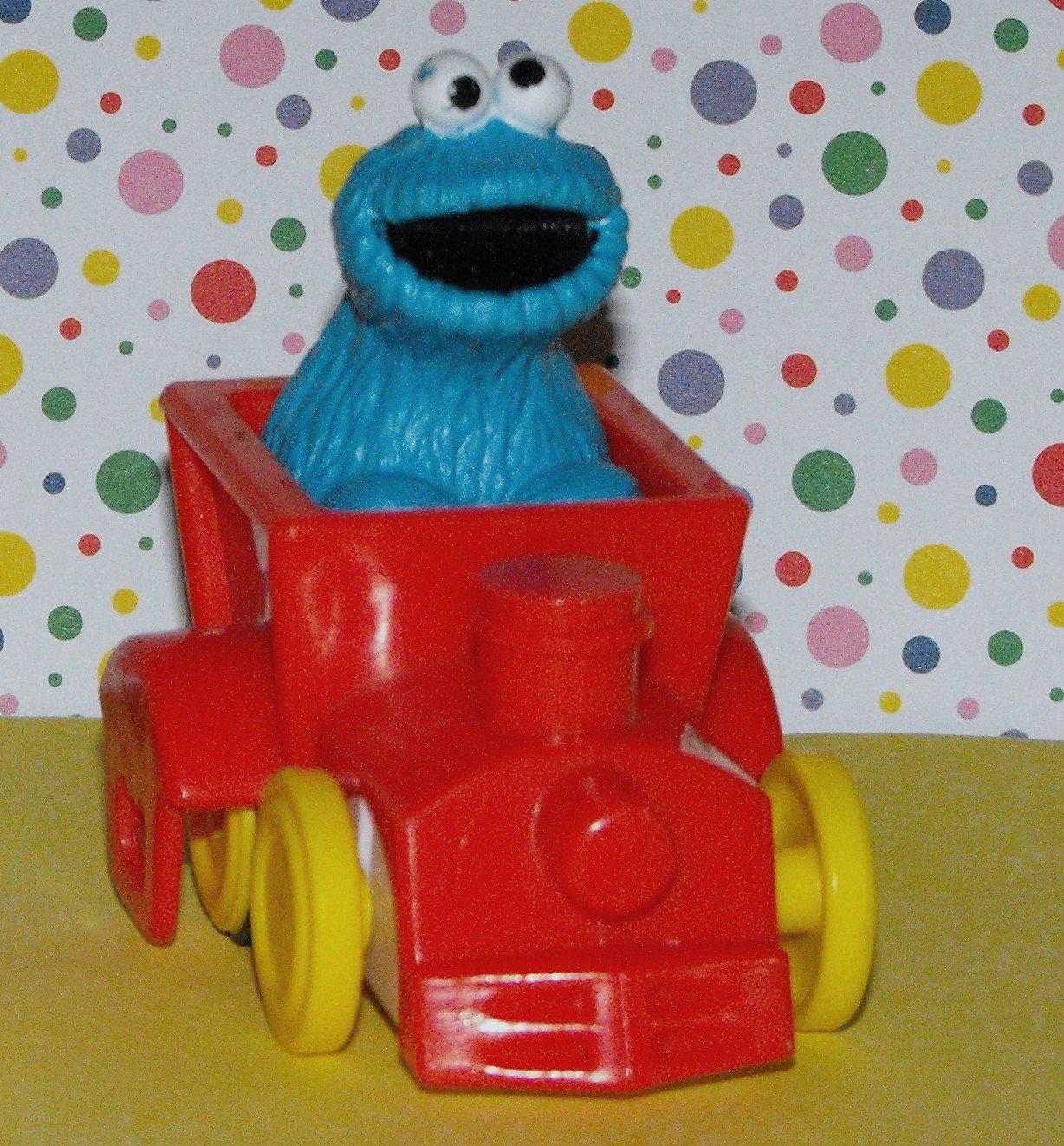 Sesame Street IILCO Toy Cookie Monster Car