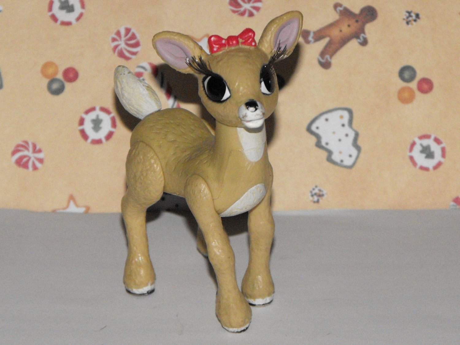 *SOLD~Awaiting Feedback~Memory Lane Rudolph The Red Nosed Reindeer Clarice