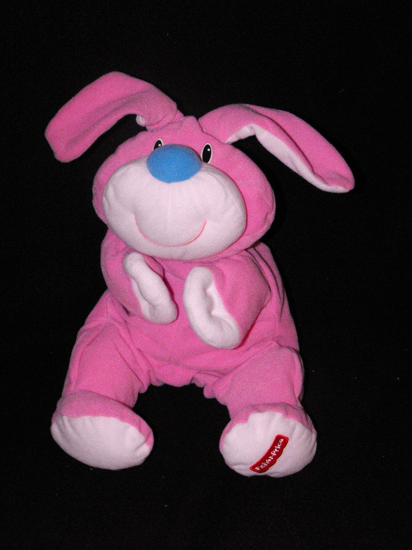 *5/14*SOLD~Vintage Fisher Price Rumple Bunny Pink Bunny