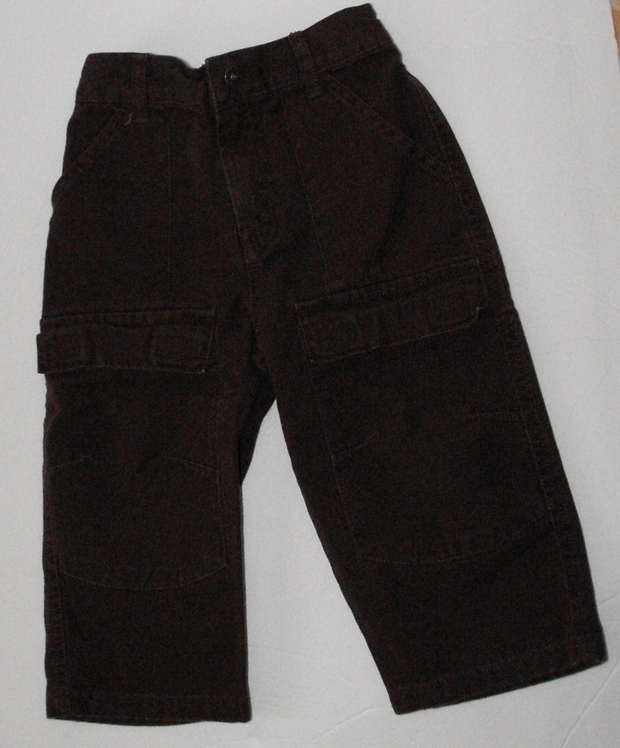 Faded Glory  Baby Boys 18-24 Months Chocolate Brown Dress Pants