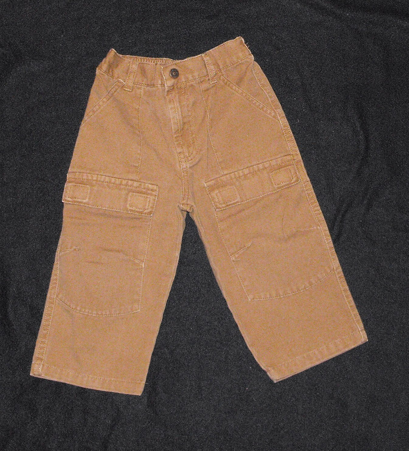 Faded Glory  Baby Boys 18-24 Months Brown Dress Pants