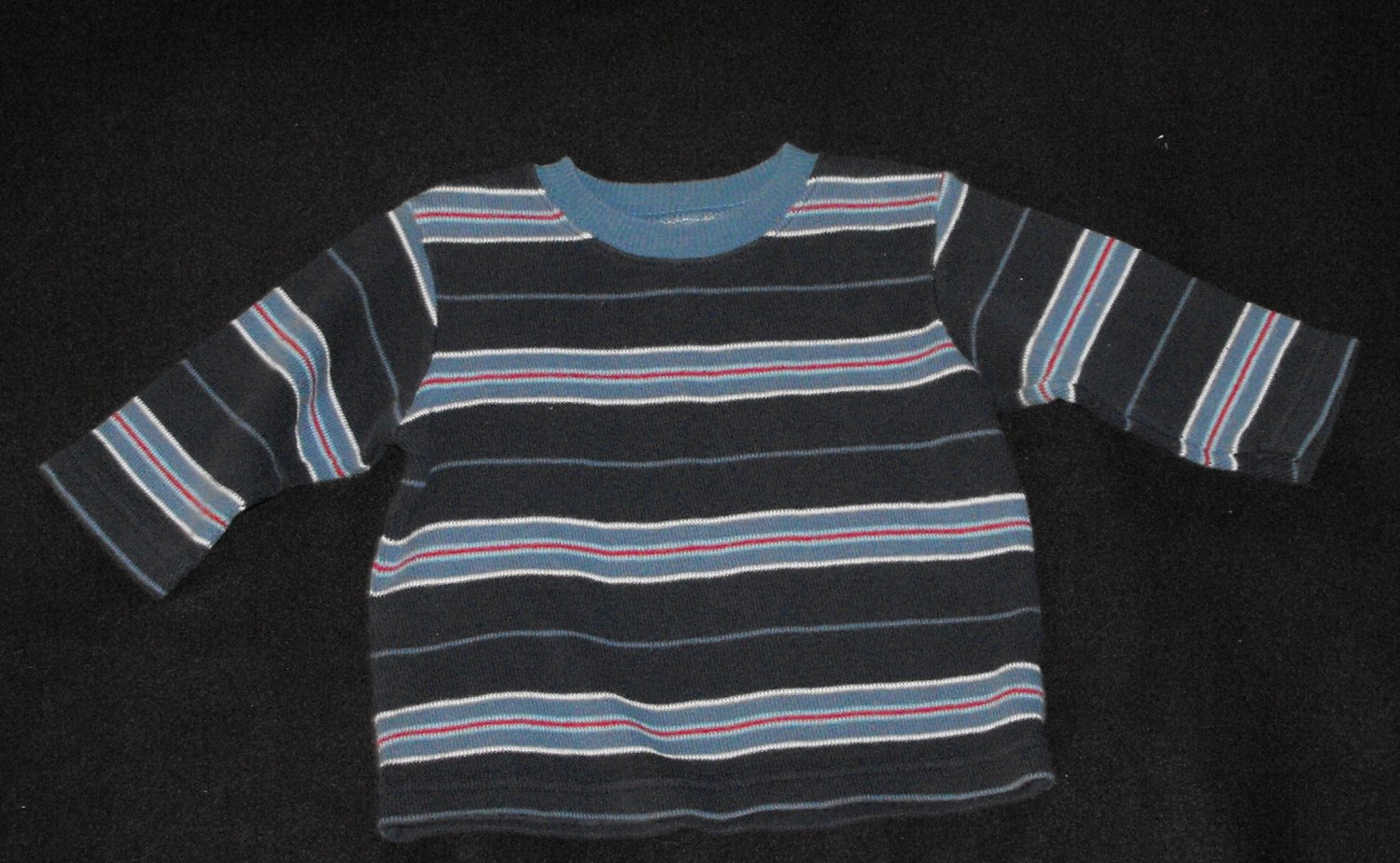 The Children's Place TCP Blue Stripe Sweater Baby Boys 12-18  Months