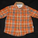 Genuine Kids by Osh Kosh Baby Boys 18-24 Months Plaid  Button Up Long-Sleeve Shirt