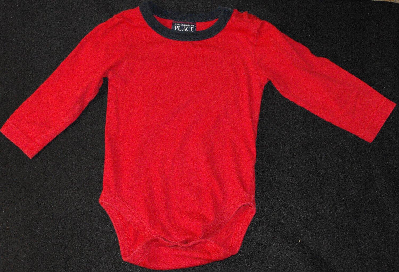 The Children's Place TCP Baby Boys 12-18  Months Longsleeve Bodysuit Shirt