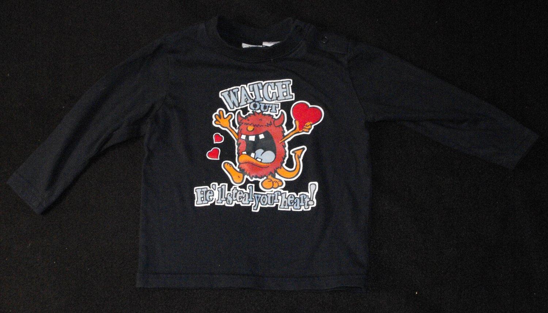 *1/14*SOLD~TKS Baby Boys 18-24 Months Longsleeve Valentine's Shirt