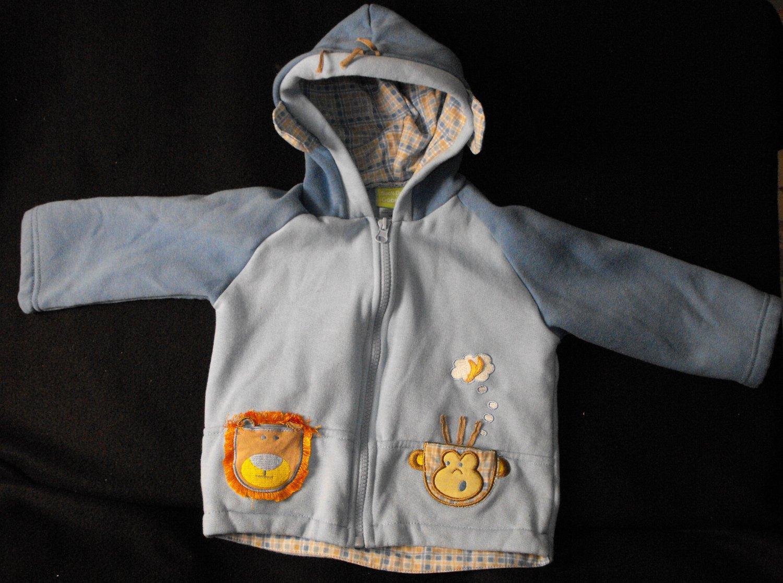 Duck Duck Goose Brand Baby Boys 18-24 Months Longsleeve Coat & Shirt