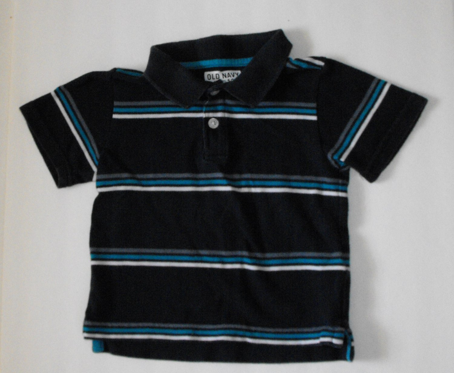 Old Navy Baby Boys 12-18 Months Polo Striped Shirt