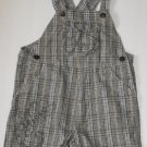 Little by Little Toddler Baby Boys 18 Months Plaid Shortalls Shorts  Outfit