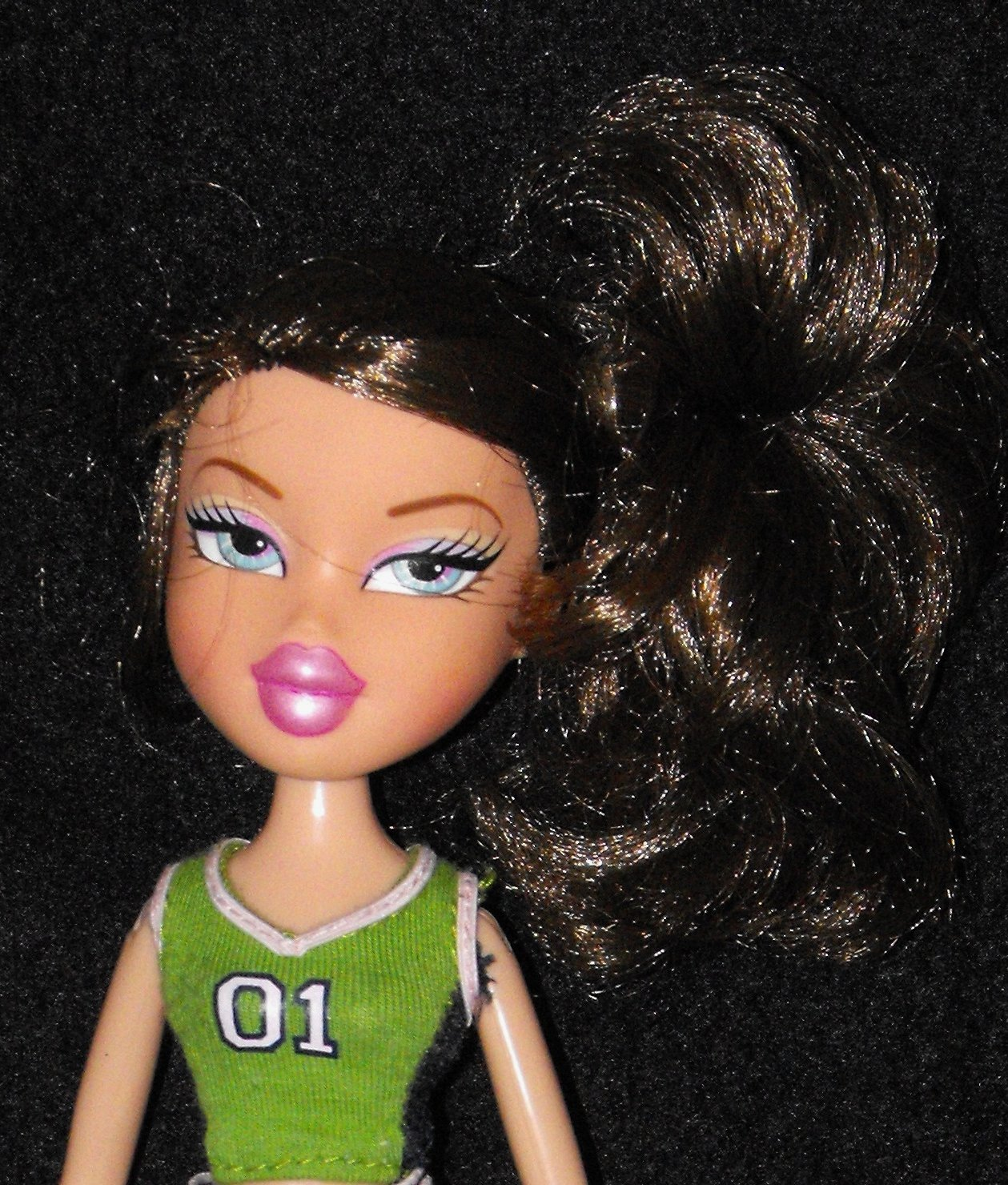 Bratz Play Sports Blazin' Basketball Dana