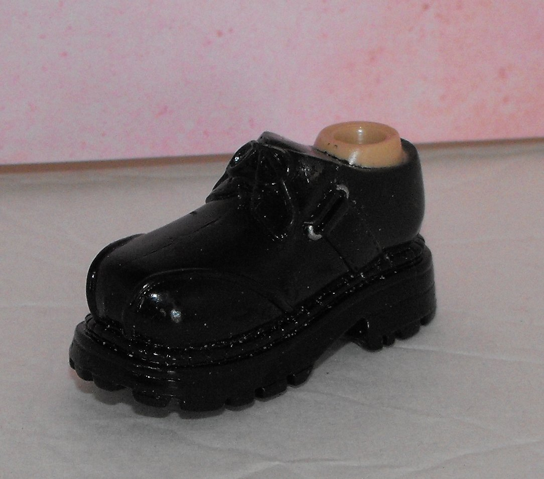 Bratz Boyz Black Doc Marten Style Shoe Foot Part