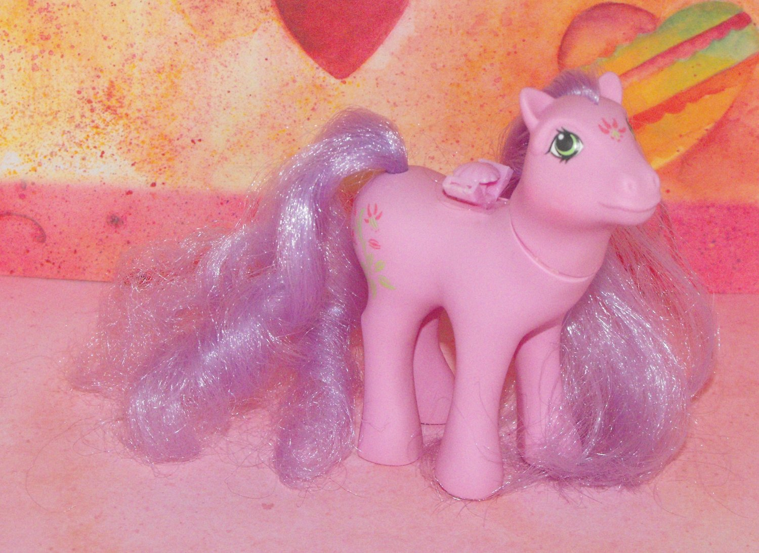 Vintage My Little Pony Flutter Wing Lily G1