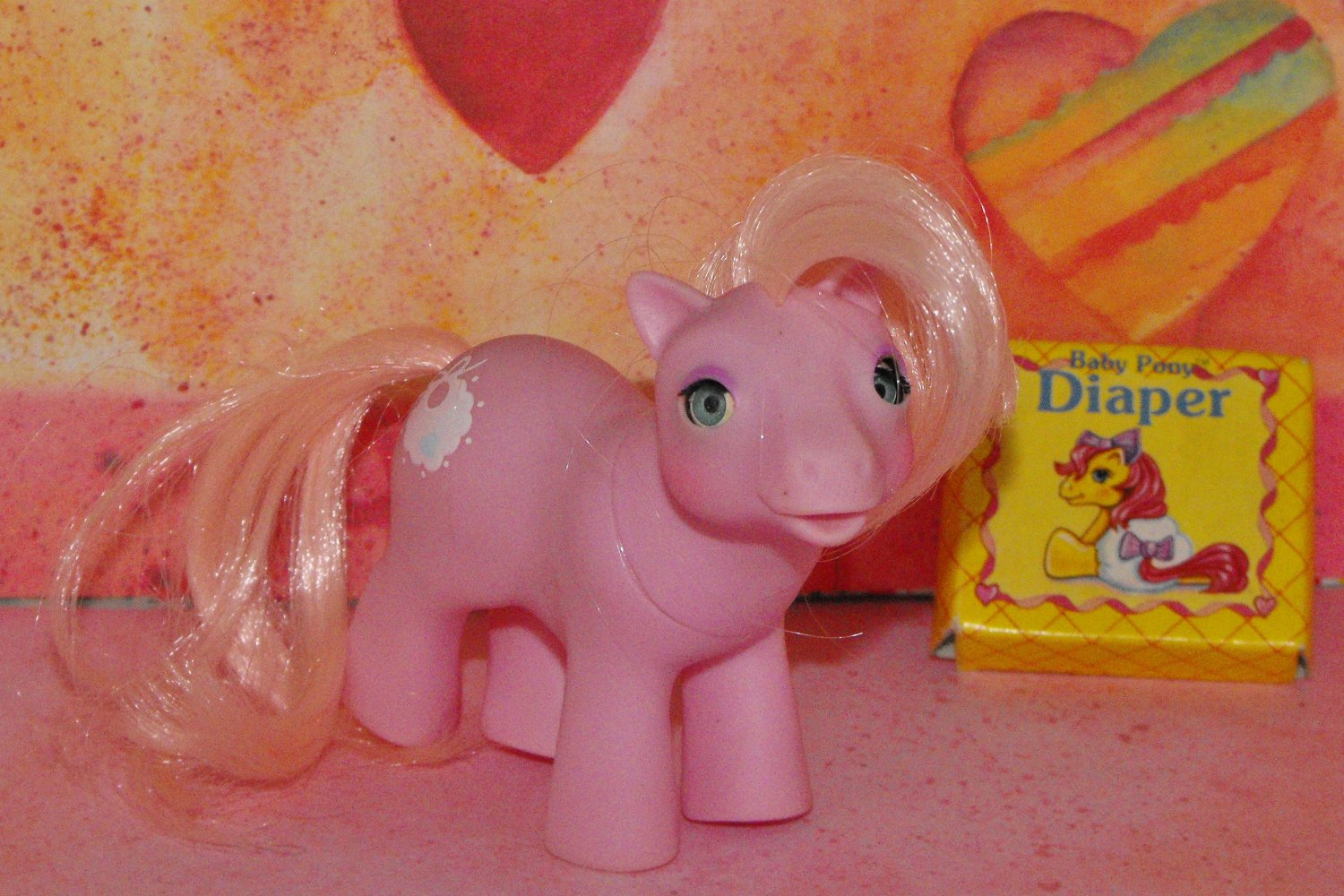 VINTAGE MY LITTLE PONY TIDDLYWINKS~MINT CONDITION!