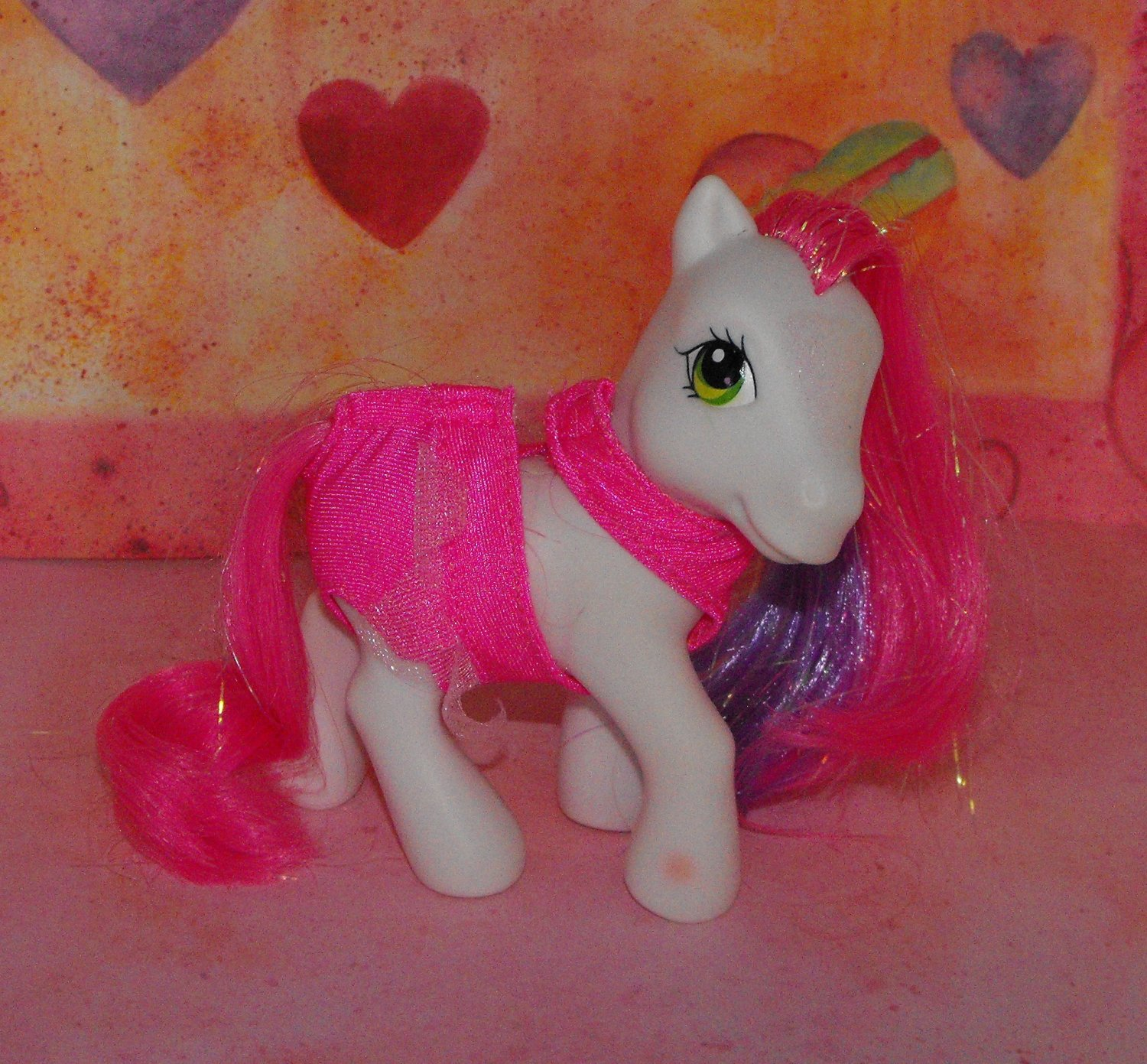 My Little Pony 2005 Carriage Ponies Cute Curtsey  G3
