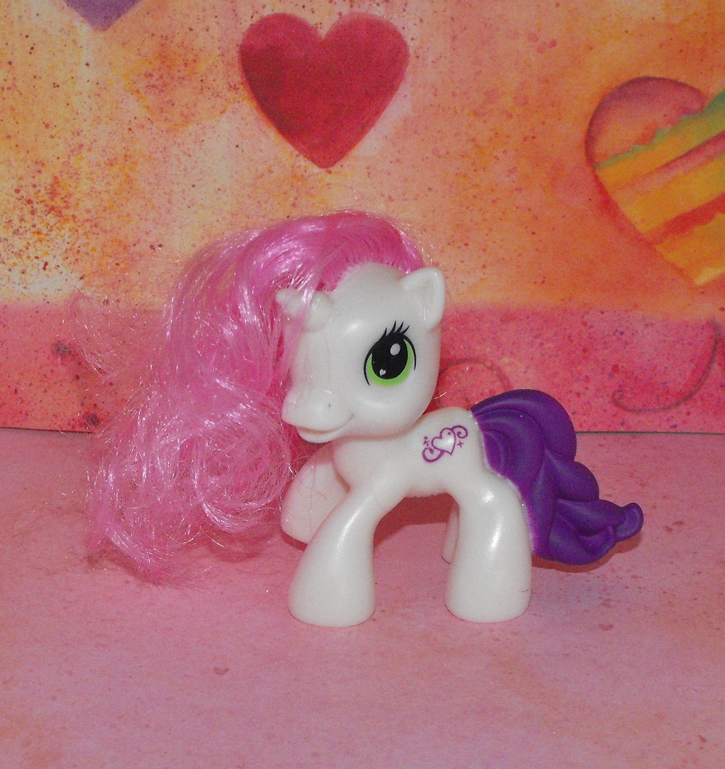 My Little Pony 2009 McDonald's Sweetie Belle G3