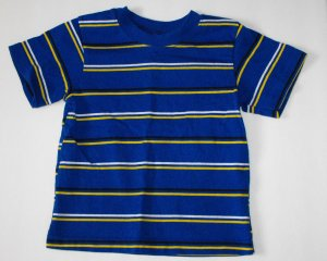 Garanimals Baby Boys 18-24 Months Striped Shortsleeve Shirt NWOT