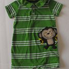 Carter's Baby Boys 18 Months Monkey Romper One Piece Outfit