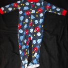 Carter's Baby Boys 18 Months One Piece Footie Sleeper Pj Space