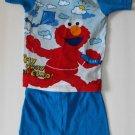 Elmo Sesame Street 18 Months Two Piece Short Pajamas Pj's