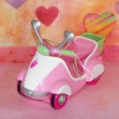 My Little Pony 2004 Strawberry Swirl's  Scootin' Along Scooter G3