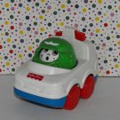 Vintage 1995 Fisher Price Roll Arounds Police Car and Roll Around