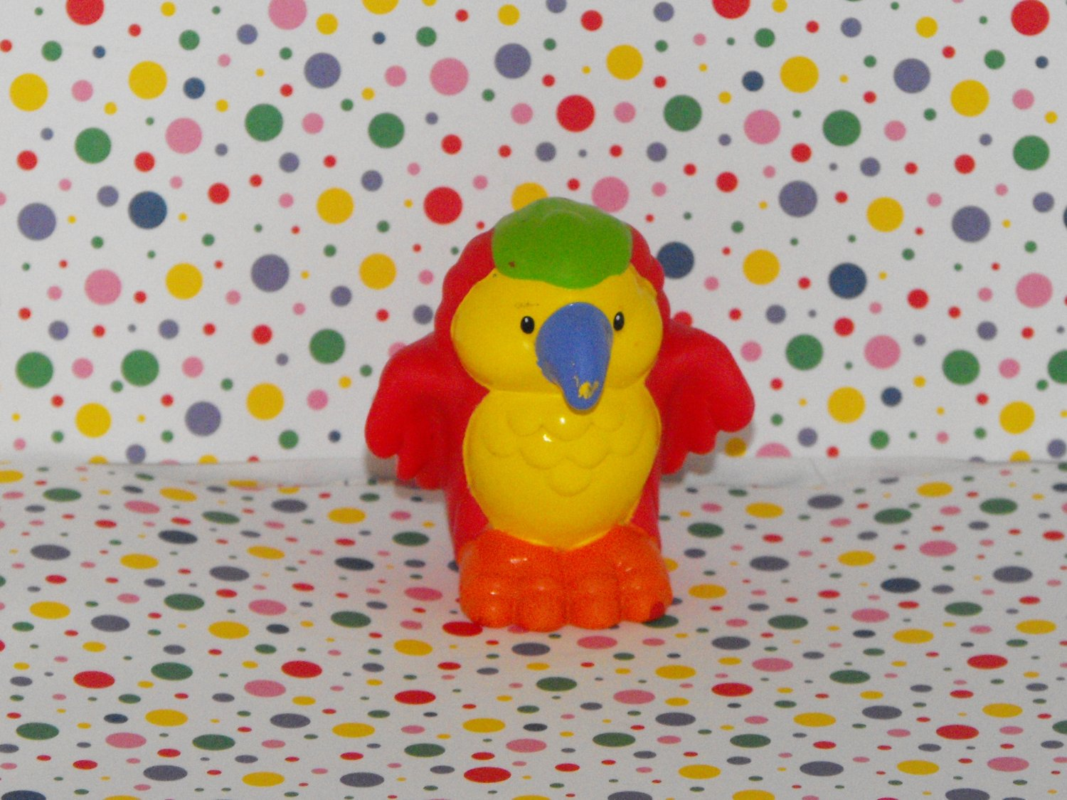 Fisher Price Little People Ship Zoo Ark Red Parrot Bird Part