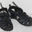 Osh Kosh Boys Navy Toggle Fron Sandals Size 9 NWOT