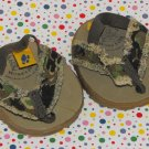 Build a Bear Workshop Clothes Camouflage Sandals Shoes