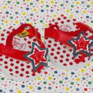 Build a Bear Workshop Clothes Stars & Polka Dots Sandals Shoes