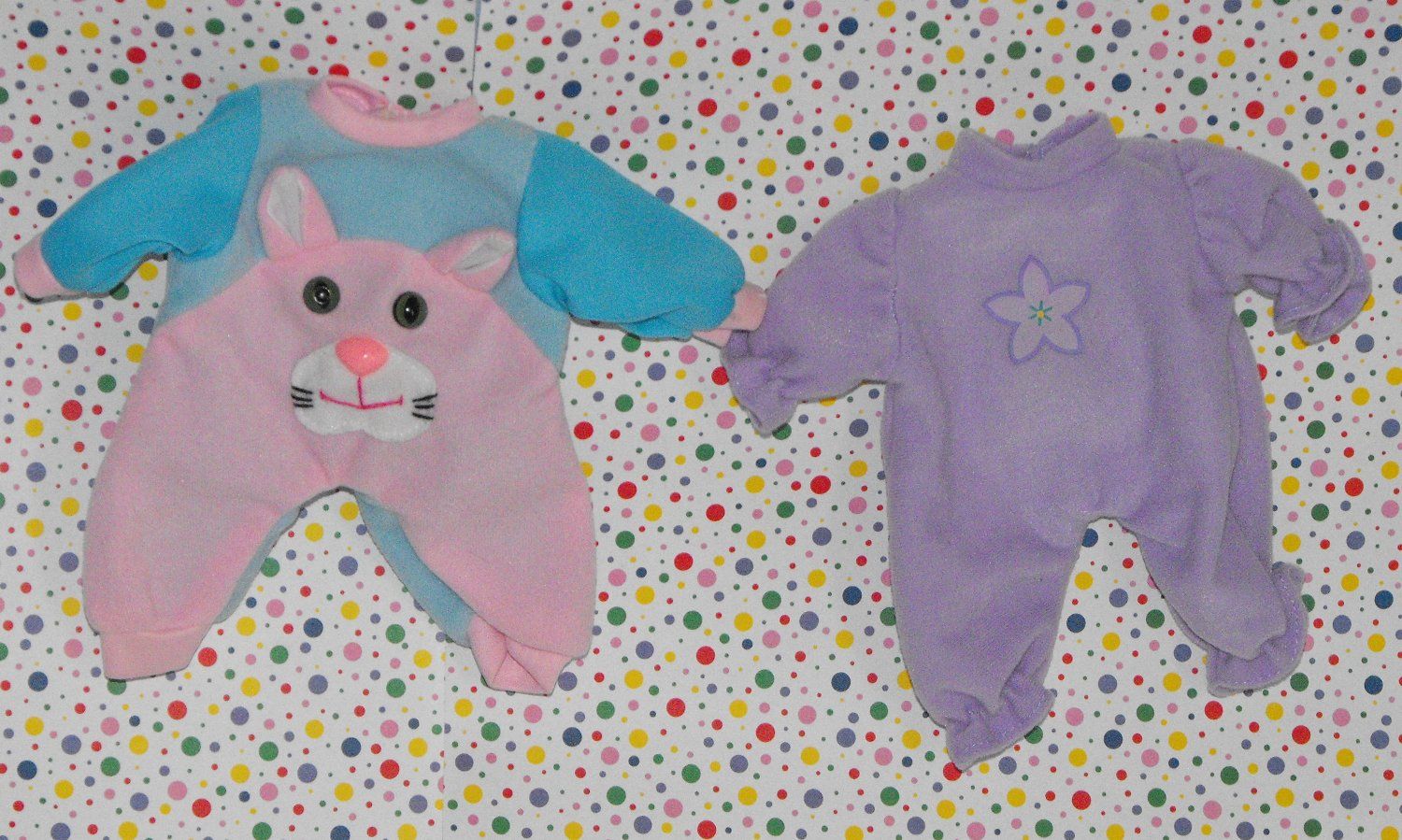 SOLD*Baby Doll Clothes 7  Inch Baby Girl 2 Peice Lot