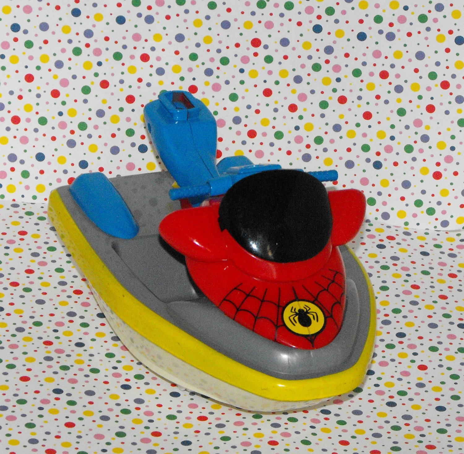 Marvel Spiderman Action Figure Jet Ski Vehicle