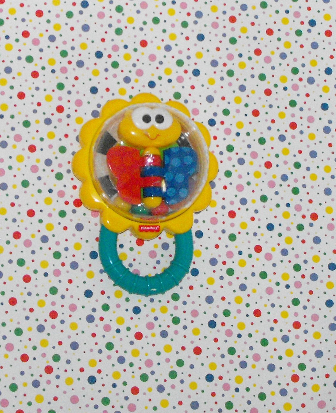 Fisher Price Bright Beginnings Butterfly Baby Rattle