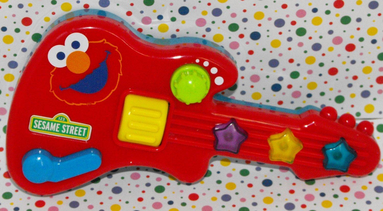 *SOLD~Awaiting Feedback~Fisher-Price Sesame Street Jam with Elmo Guitar