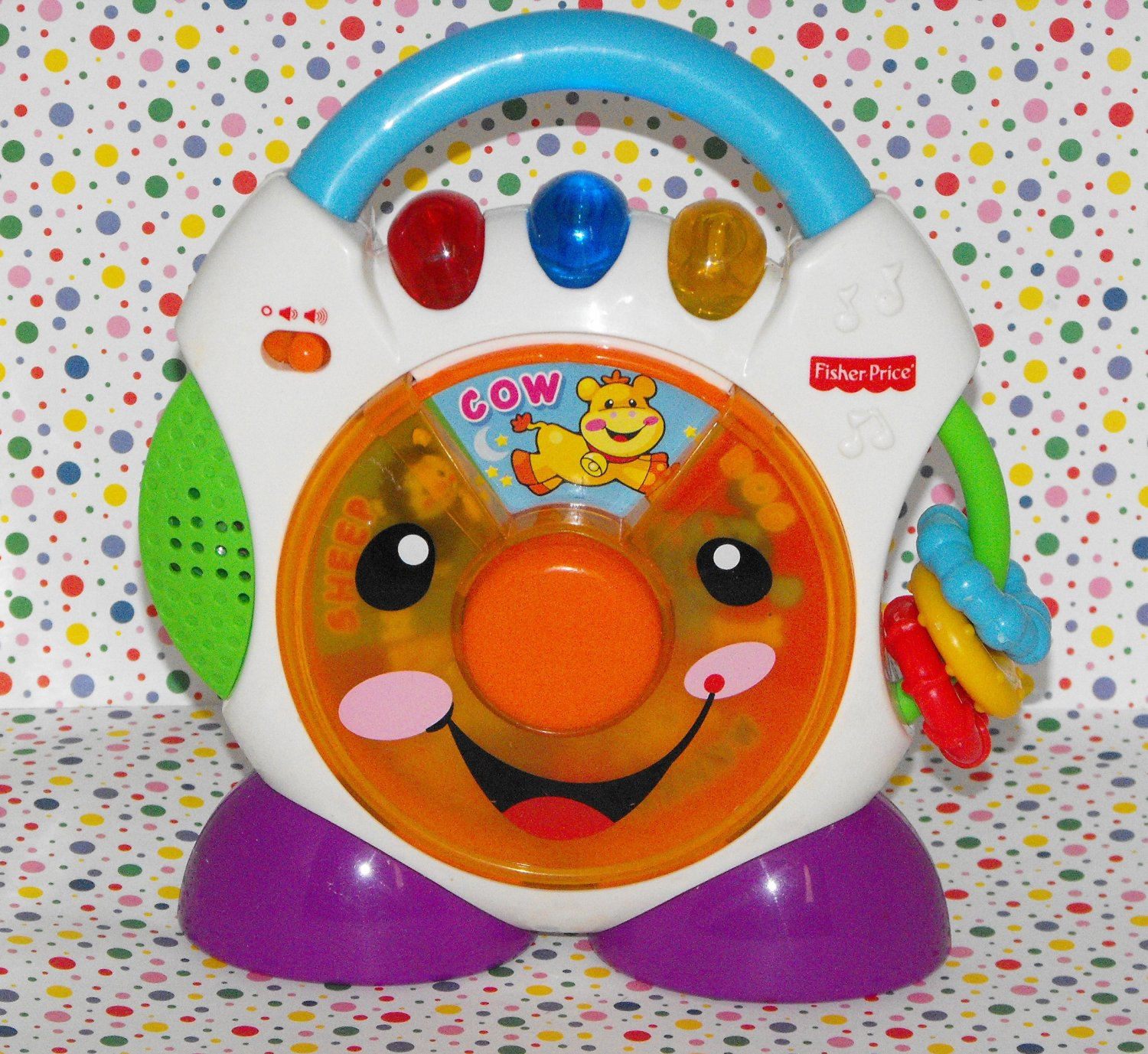 SOLD*Fisher-Price Nursery Rhymes CD Player