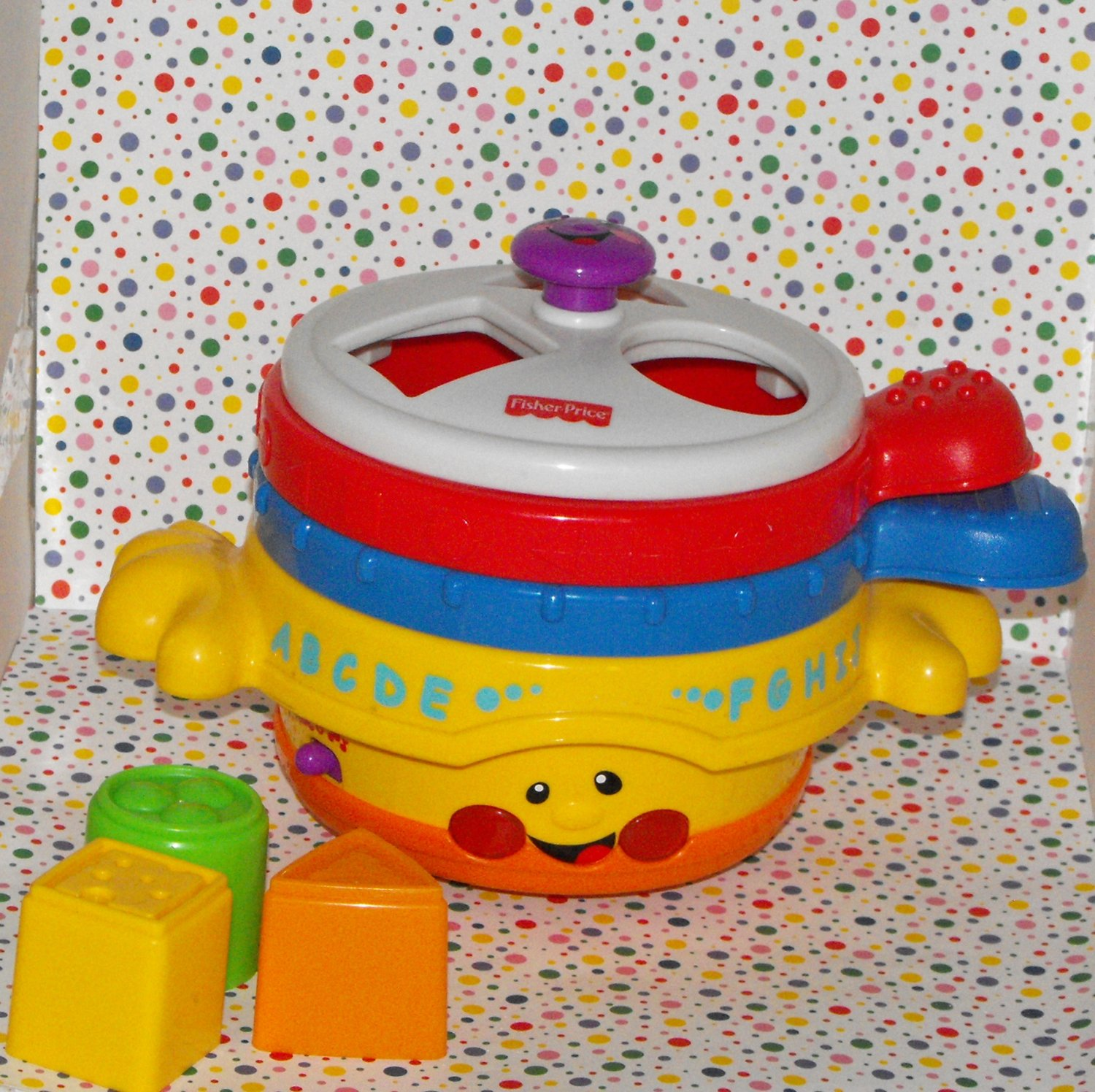 Fisher-Price Learning Pots and Pans Toy