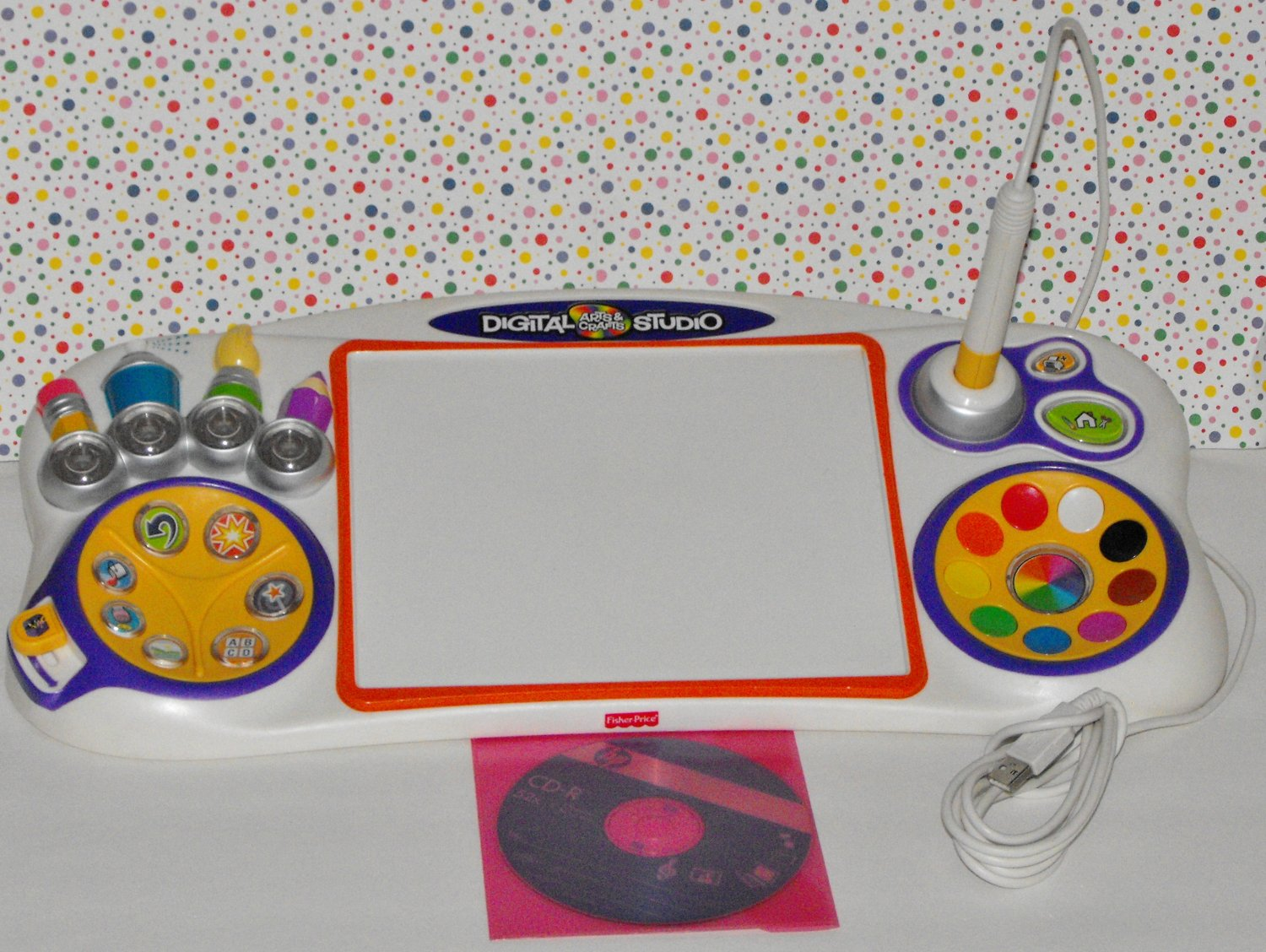 1 sold fisher price digital arts and crafts computer studio for Fisher price digital arts crafts studio